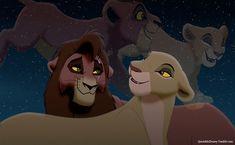 Kiara and Kovu 20 Years On. Le Roi Lion 1, Le Roi Lion Disney, Disney Lion King, Lion King 2 Kovu, The Lion King 1994, Lion King Fan Art, Kiara And Kovu, Lion King Pictures, Doodle Inspiration