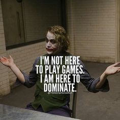 Heath Ledger who with his interpretation of Joker in Dark Knight wrote a film story. Dark Quotes, Strong Quotes, Wisdom Quotes, Quotes To Live By, Me Quotes, Motivational Quotes, Inspirational Quotes, Loyal Quotes, Attitude Quotes