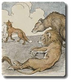 LeoBearFox-1-259x300 Der Löwe, der Bär und der Fuchs | Streit