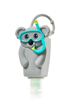PocketBac Holder Snorkeling Koala from Bath & Body Works. Shop more products from Bath & Body Works on Wanelo. Body Works, It Works, Alcohol En Gel, Best Home Fragrance, Hand Sanitizer Holder, Ultra Shea Body Cream, Bath And Bodyworks, Perfume, Smell Good