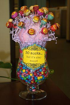 Lollypop & chocolate handmade gift