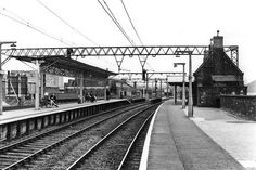 Ashburys Station for Openshaw Tech - see wikipedia. Built for & by the Ashbury Carriage & Iron Co Ltd. The Ashbury Works including iron foundry were behind the station. Site excavated finished The station is on the Northern Line. Railroad Tracks, Manchester, England, David Jones, City, Wales, Pictures, Tech, Memories