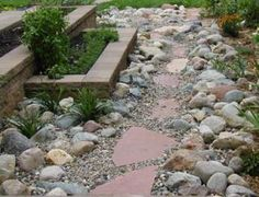 images about River Rock Landscaping on Pinterest