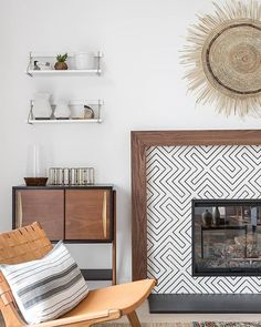 Clé Tile On Instagram Cozy Up With New Blog Post Is Tips And Ideas For Tiling Your Fireplace Cletile Zenith Design Lindyegalloway