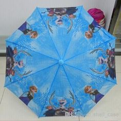 Fashion Cute Cartoon Frozen Umbrella Rain And Sun Umbrellas | Buy Wholesale On Line Direct from China