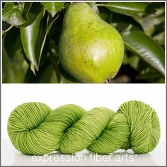 Expression Fiber Arts, Inc. - PEAR 'RESILIENT' SUPERWASH MERINO SOCK, $24.00 (http://www.expressionfiberarts.com/products/pear-resilient-superwash-merino-sock.html)