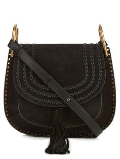 Hudson medium suede shoulder bag | Chloé | MATCHESFASHION.COM UK