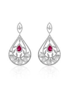 Minawala | Diamonds, Pearls and Rubies | Ayla Collection
