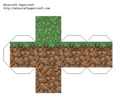 Minecraft Party - free printables for all the cubes