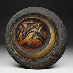 THE WOOD SCULPTURE OF DOUGLAS J FISHER- its just a tire :)