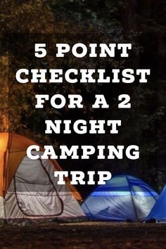 Point Checklist For A 2 Night Camping Trip If you want to go camping make sure to read this article first. I love this checklist.If you want to go camping make sure to read this article first. I love this checklist. Camping Hacks, Camping Bedarf, Retro Camping, Camping Supplies, Camping Checklist, Camping Essentials, Family Camping, Outdoor Camping, Outdoor Gear