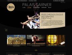 Site internet du Palais Garnier - Opéra de Paris - www.visiteparisgarnier.fr by agence Minit-L - www.minit-l.com