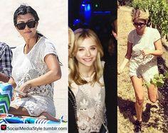 Kourtney Kardashian vs Chloe Grace Moretz vs Ashley Benson: Who Wore It Better? Buy their lace outfit, here!