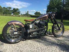 Harley Davidson Hardtail Custom Bobber Chopper