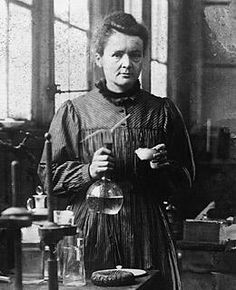 Marie Curie, the first woman to receive the Nobel Prize