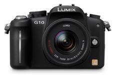 Panasonic Lumix DMC-G10 12.1 MP Live MOS Mirrorless Digital Camera with 14-42mm Lumix G Vario f/3.5-5.6 MEGA OIS Lens Panasonic http://www.amazon.com/dp/B003AOAXJQ/ref=cm_sw_r_pi_dp_3ArEvb08GE1GP