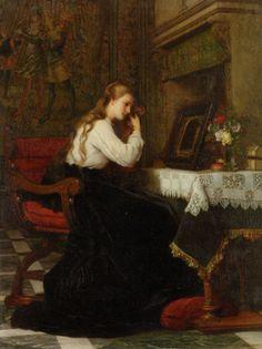 Vanity - Pierre Charles Comte  19th century