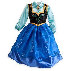 Anna Costume for Girls - Frozen