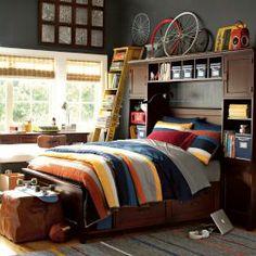 Ultimate Teen Boy Bedroom Furniture - Best Home Decor Tips Teen Boy Bedding, Teen Boy Rooms, Teen Boys, Pb Teen, Teenage Guys, 2 Boys, Kids Rooms, Boys Bedroom Furniture, Kids Bedroom
