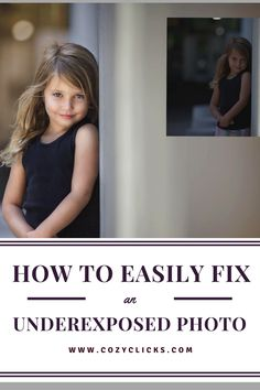 Simple ways to fix a photo that was underexposed. Find out how by reading here! Simple ways to fix a photo that was underexposed. Find out how by reading here! Photography Lessons, Photoshop Photography, Photography Tutorials, Digital Photography, Amazing Photography, Photography Ideas, Beginner Photography, Flash Photography, Beauty Photography