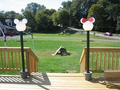 Mickey light post