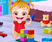 Baby Hazel Play Toy Brick Games