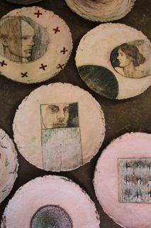 Plates, Hennie Meyer Ceramics, South Africa