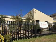 Another external redecoration with black palisade fencing in Rosendal, Bellville