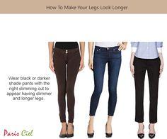 How To Make Your Legs Look Longer ← Paris Ciel