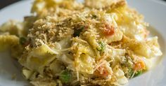 Hearty Chicken Noodle Soup Casserole