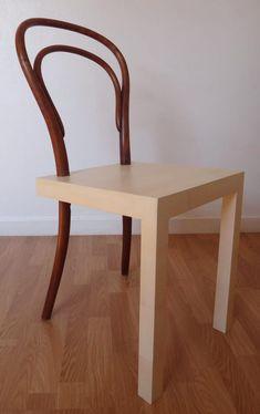 Hommage à la chaise thonet n°14 par Céline Persouyre