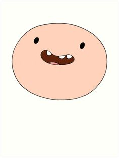 Adventure Time - Finn's face