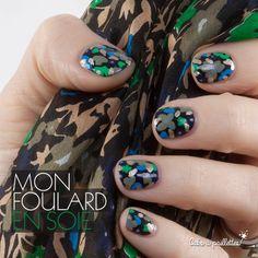Inspiré de mon joli foulard tout doux… http://cakoapaillettes.fr/blog/mon-foulard-en-soie/