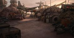It's my party and I'll geek out if I want to and today I dove into the world of concept art, depicting dying, abandoned, lifeless, or post apocalyptic landscapes ... as you do. On the endless rabbit hole that is Reddit.com I found a few sub forums dedicated entirely to imaginary wastelands and I got