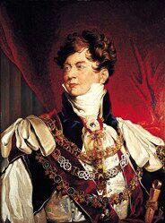 Georg IV. August Friedrich(englischGeorge Augustus Frederick; *12. August1762imSt. James's Palace; †26. Juni1830imWindsor Castle) war von 1820 bis 1830KönigdesVereinigten Königreichs von Großbritannien und Irlandund König vonHannover. Bereits ab 1811 übte er das Amt desRegentenaus, da sein vermutlich anPorphyrieerkrankter VaterGeorg III.regierungsunfähigwar.[1][2]Nach dem Tode Georgs IV. folgte ihm sein Bruder alsWilhelm IV.auf dem Thron nach.