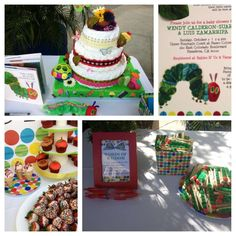 The Very Hungry Caterpillar, by Eric Carle Baby Shower Party Ideas | Photo 14 of 52 | Catch My Party