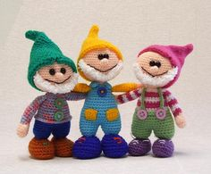 Gnome  amigurumi PDF crochet pattern by Nowacrochet on Etsy, $6.50