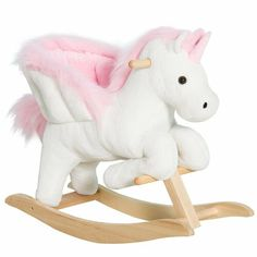 New Kids Rocking Horse by Qaba baby kid teen offer. Fashion is a popular style Unicorn Rocking Horse, Kids Rocking Horse, Cute Kids, Cute Babies, Baby Kids, Butterfly Baby, Baby Necessities, Ride On Toys, Cool Baby Stuff