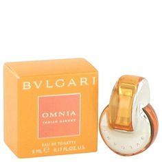 Bvlgari Omnia Indian Garnet Perfume By BVLGARI 0.17 oz Mini EDT FOR WOMEN -- Additional details at the pin image, click it  : Travel Perfume and fragrance