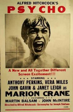 Psycho. Awesome movie!!