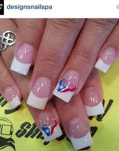 Texans Nails