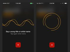 SoundHound iOS Voice Search