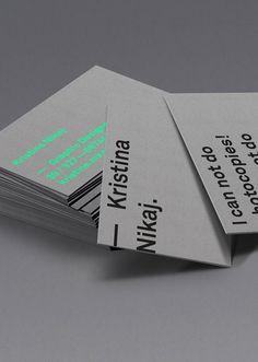 Business Card Inspiration 5 DesignBusiness CardsGraphic