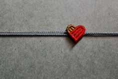 Little Heart - Tutorial #macrame