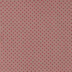 Cotton grey w red dots/pattern - Stoff & Stil
