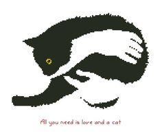 Gatti/animale contato Cross Stitch Pattern di crossstitchgarden