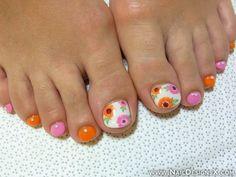 toe summer nail art