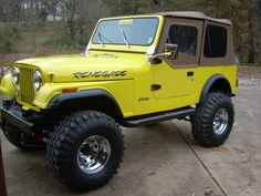 big foot jeep painted green - Google Search