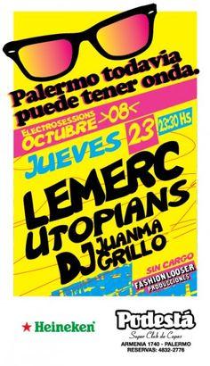 PTPTO  Palermo Todavía Puede Tener Onda Ciclo de rock indie 2008 Dg Kido Central