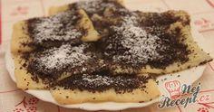 Slovenské perky s povidly a mákem Slovak Recipes, Czech Recipes, Russian Recipes, My Recipes, Cookie Recipes, Vegan Recipes, Poppy Cake, What To Cook, Sweet Desserts